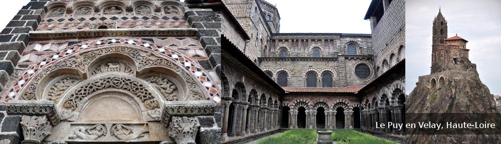visite guidée du site historique du Puy en Velay (Haute Loire, Auvergne)